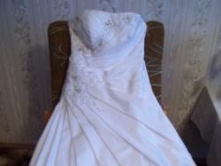 Śnieżnobiała suknia ślubna!!!