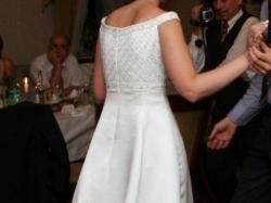 Śnieżnobiała suknia ślubna Agora 36/38