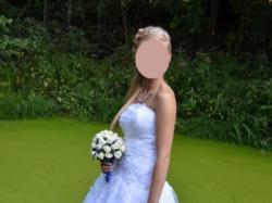 Śnieżnobiała Suknia Ślubna PRINCESSA