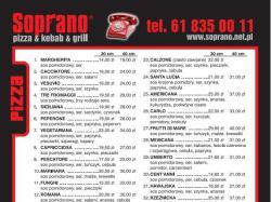 Soprano - pizza & kebab & grill