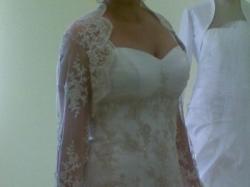 Soprzedam piękną, oryginalną suknie ślubną!