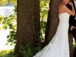 spedam hiszpańską suknię ślubną firmy pronovias- model India