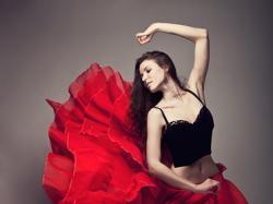 spódnica w stylu hiszpańskim