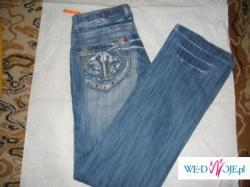 Spodnie jeans rozm 29