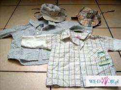 spodnie, koszule dla chłopca
