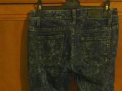 Spodnie marmurki z zamkami