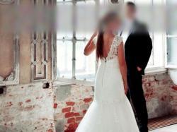 Sposabella 1404 Dali suknia ślubna rybka 2014 r.36/38
