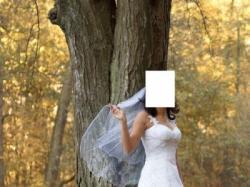 Sposabella koronkowa suknia ślubna lekka