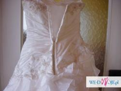 spr5zedam suknię ślubną rozm. 38