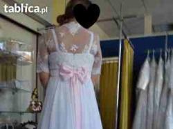 spraedam wyjątkową suknie ślubną