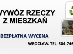Sprzątanie mieszkań po zmarłych, cena, tel. 504-746-203. Dezynfekcja pomieszczenia, Wrocław.