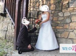 sprzdam  sukienke  ślubna