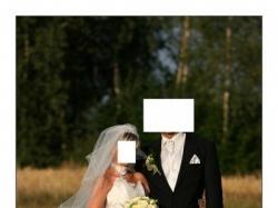 Sprzeadam suknię ślubną francuskiej firmy FARAGE 2061