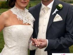 Sprzeam suknie ślubną firmy CYMBELINE rozmiar 36/38