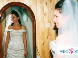 Sprzeda niepowtarzalną suknie ślubną z kolekcji Benjamin Roberts
