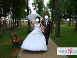 Sprzeda śliczną suknie ślubną
