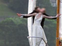 sprzeda suknię ślubną