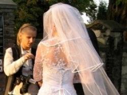 Sprzeda tanio suknię ślubną sisi