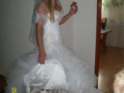 Sprzedam 2 suknie ślubne rozmiar 0d 36-38-40 regulacja z tyłu