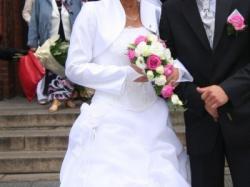 Sprzedam bajeczną suknie ślubną