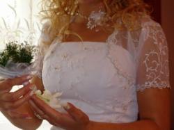 Sprzedam bajkową suknię ślubną z USA (Rzeszów)