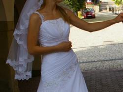 Sprzedam bardzo piękną suknię ślubną