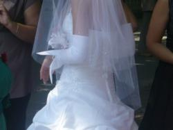 sprzedam BARDZO TANIO suknie ślubną rozmiar 36