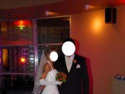 Sprzedam białą bajkową suknię ślubną