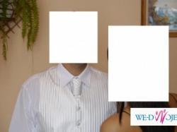 sprzedam białą kamizelkę do ślubu
