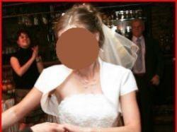 sprzedam białą suknię agnes model 1714