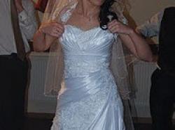 Sprzedam białą suknię rozmiar 36