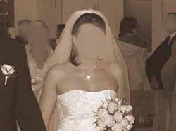 sprzedam białą suknię ślubą, sznurowaną
