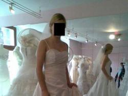 sprzedam białą suknię ślubną 36/38