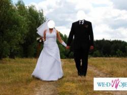Sprzedam białą suknię ślubną 38-40, Agnes 1566