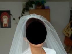 Sprzedam białą suknie ślubną