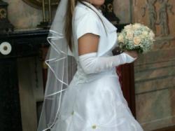 Sprzedam białą suknię ślubną
