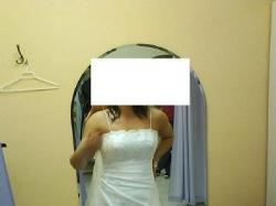SPRZEDAM!!! Białą Suknie Ślubną