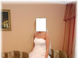 Sprzedam białą suknię ślubną firmy Karina