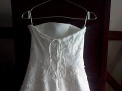 Sprzedam białą suknię ślubną roz.38 +bolerko