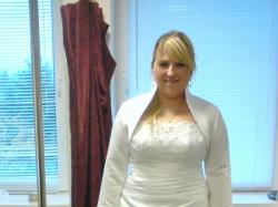 Sprzedam białą suknię ślubną rozmiar 46, dodatki gratis