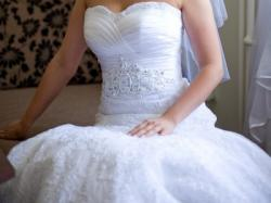 Sprzedam białą suknię ślubną SPOSA EDER z kolekcji 2012