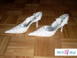 sprzedam biale buty slubne roz 36