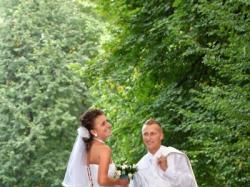 sprzedam biały ślubny garnitur