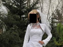 sprzedam biłą suknie