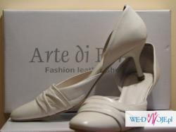 sprzedam buty Arte di Roma, ivory, roz. 39