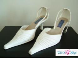 """Sprzedam buty do ślubu / wizytowe, """"złamana biel"""", rozm. 38"""