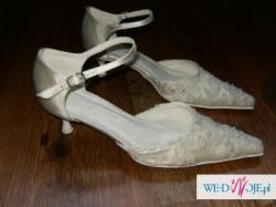 Sprzedam buty ślubne oraz ozdoby do włosów