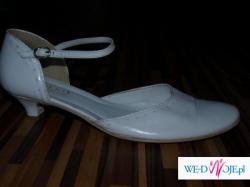 Sprzedam buty ślubne Ryłko - używane romiar 41,5