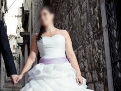 Sprzedam CASCADA  ANGEL roz.38 białą suknię ślubną projektu Violi Piekut
