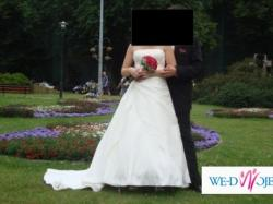 Sprzedam ciążową suknię ślubną